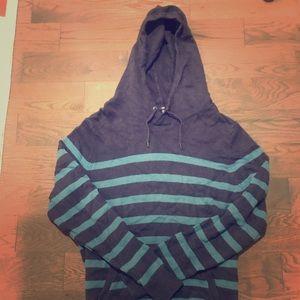 Gap Hoodie, blue striped